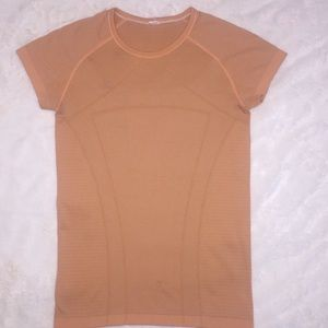 IVIVVA Girls Fly Tech Short Sleeve Shirt Orange 14